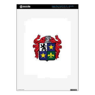 Medieval Crest Skin For iPad 3