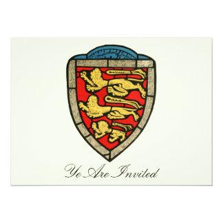 Medieval Crest  - Vintage Invites
