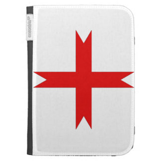 Medieval Cross of the Knights Templar Cases For Kindle