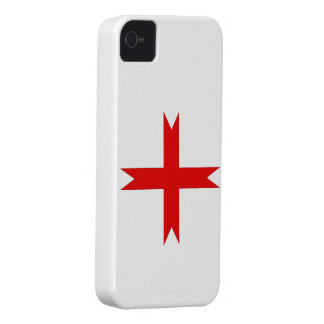 Medieval Cross of the Knights Templar Case-Mate iPhone 4 Case
