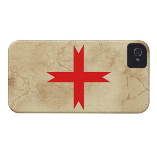 Medieval Cross of the Knights Templar iPhone 4 Cover