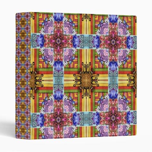 Medieval Cross Vinyl Binders