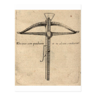 medieval-crossbow-8 postcard