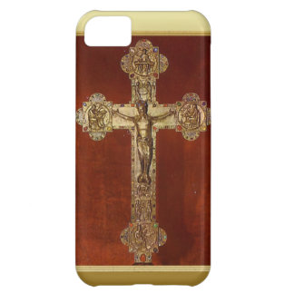 Medieval crucifix iPhone 5C covers