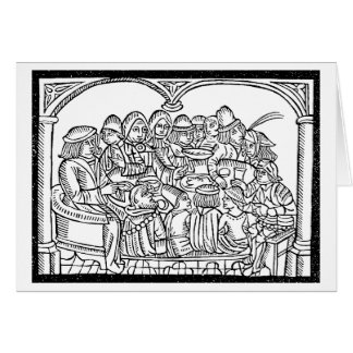 Medieval Dinner BLANK cards