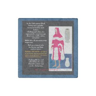 """Medieval Doctor"" Stone Magnet"