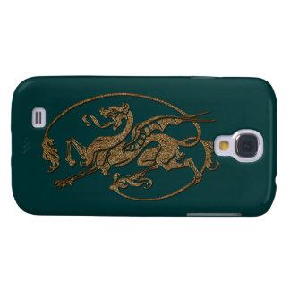 Medieval Dragon Antique Art Designer Gift Galaxy S4 Cases