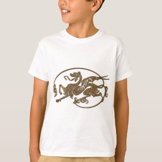 Medieval Dragon Antique Art Designer Gift T-Shirt