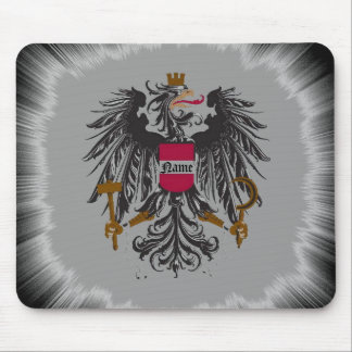 Medieval Dragon Crest Mouse Pad