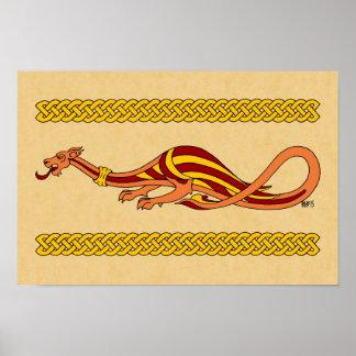 Medieval Dragon Design 2015 Poster
