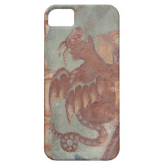 Medieval dragon fresco case for iPhone 5