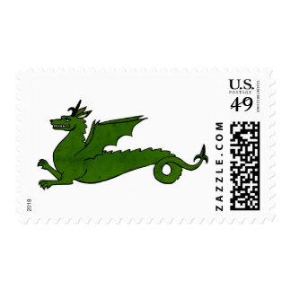 Medieval Dragon Postage