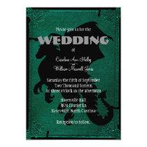 Medieval Dragon Sword Vintage Wedding Invitation