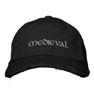 Medieval Embroidered Baseball Cap