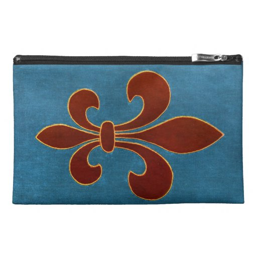 Medieval Embroidery Travel Accessory Bag