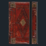 "Medieval Engraved Red Leather Book Cover Design<br><div class=""desc"">This ancient medieval book cover design has all the typical characteristics of age you would expect to see on a book cover dating back to the fifteenth century. If you have the iPad Mini 4 please contact me as the design will have to be adjusted to fit the new size...</div>"