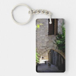 Medieval Entrance Door Keychain
