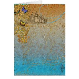 Medieval Fairy Tale Invitation or Greeting Card
