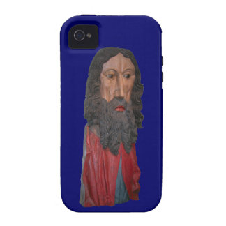Medieval figure of Christ, Berne, Switzerland Case-Mate iPhone 4 Covers