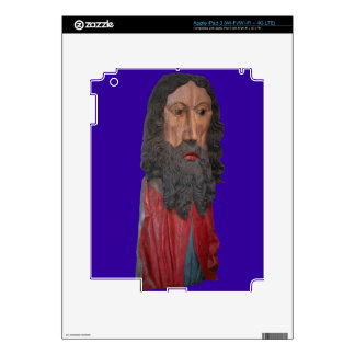 Medieval figure of Christ, Berne, Switzerland Skin For iPad 3