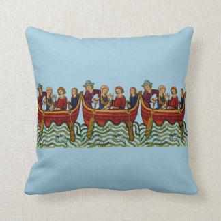 Medieval Fishing Trip Pillow
