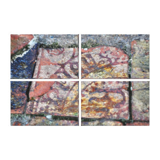 Medieval Floor Tiles No 2 Canvas Print