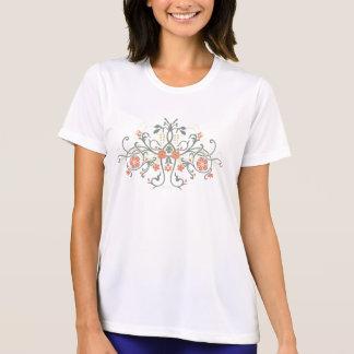 Medieval Floral Vine Print #2 T-shirts