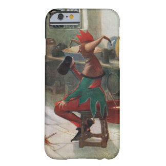 Medieval fool having has beer barely there iPhone 6 case
