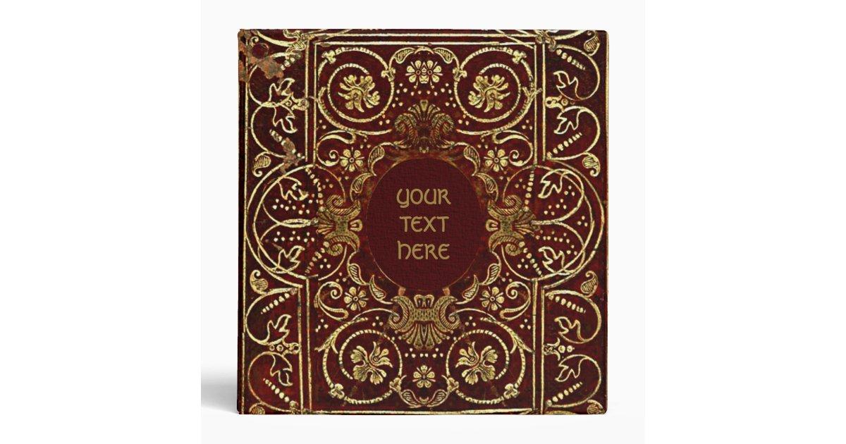 medieval gilded book cover binder