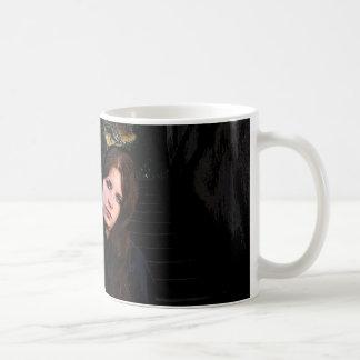 Medieval Girl on Stairs Coffee Mug