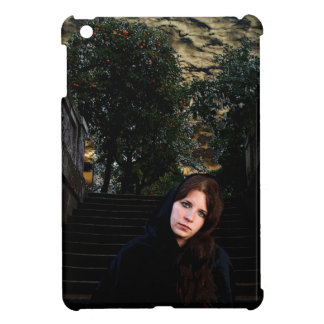Medieval Girl on Stairs iPad Mini Case
