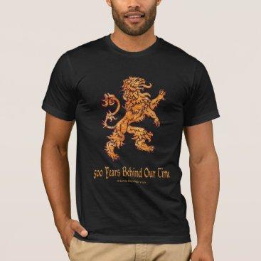 linda_mn Medieval Gold Lion T-Shirt