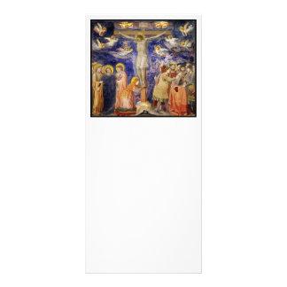 Medieval Good Friday Scene Rack Card