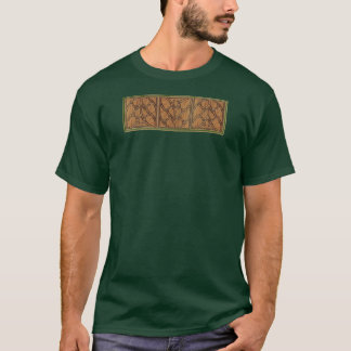 Medieval Gothic Square Triple Panel T-Shirt