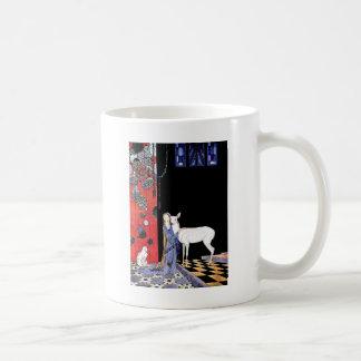 medieval gown coffee mug