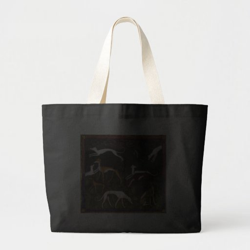 'Medieval Greyhounds' Canvas Bags