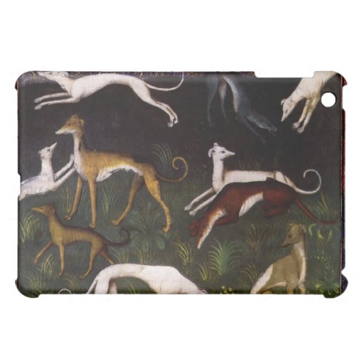 Medieval Greyhounds Fine Art iPad Mini Cases
