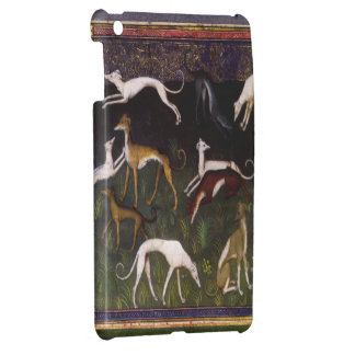 Medieval Greyhounds in the Deep Forest Case For The iPad Mini