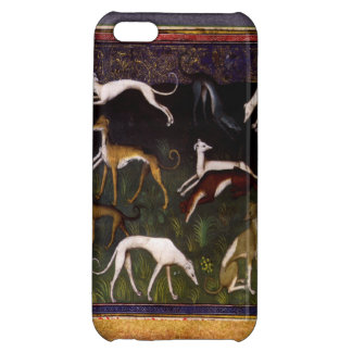 Medieval Greyhounds in the Deep Forest Cover For iPhone 5C