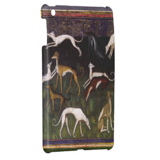 Medieval Greyhounds in the Deep Forest iPad Mini Cover