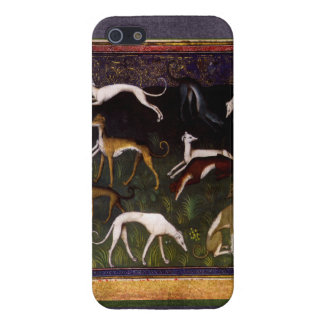Medieval Greyhounds in the Deep Forest Case For iPhone 5/5S