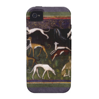 Medieval Greyhounds in the Deep Woods iPhone 4/4S Cover