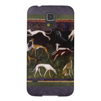 Medieval Greyhounds in the Deep Woods Samsung Galaxy Nexus Case