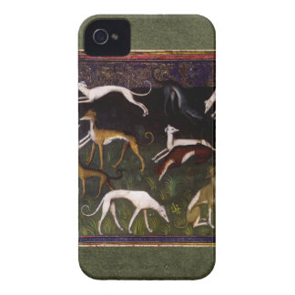 Medieval Greyhounds in the Deep Woods Case-Mate iPhone 4 Case
