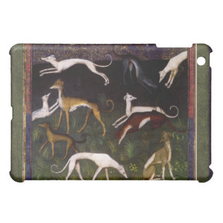 Medieval Greyhounds in the Deep Woods iPad Mini Cases