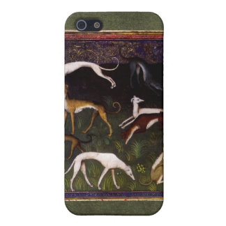 Medieval Greyhounds in the Deep Woods iPhone SE/5/5s Cover