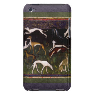Medieval Greyhounds in the Deep Woods iPod Case-Mate Case