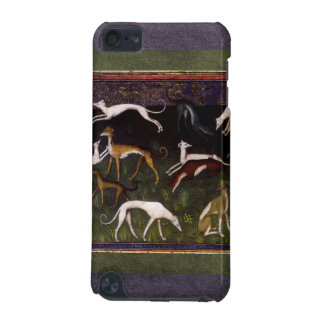 Medieval Greyhounds in the Deep Woods iPod Touch 5G Case