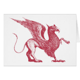 Medieval Griffin Card