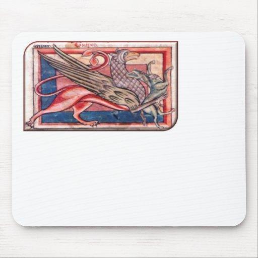 Medieval Gryphon Mousepad